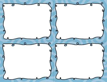 Task Card Clip Art Templates - MINI SET 14