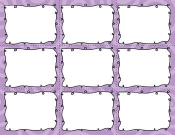Task Card Clip Art Templates - MINI SET 15