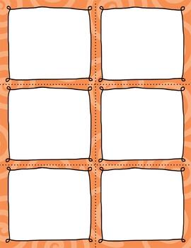 Task Card Clip Art Templates - MINI SET 19