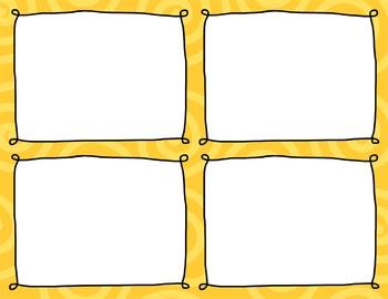 Task Card Clip Art Templates - MINI SET 21