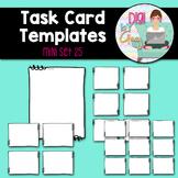 Task Card Templates Clip Art MINI SET 25
