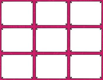Task Card Templates Clip Art MINI SET 26