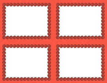 Task Card Clip Art Templates - MINI SET 28