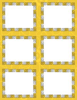Task Card Templates Clip Art MINI SET 29