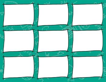 Task Card Clip Art Templates - MINI SET 4