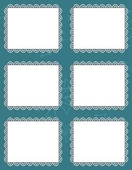 Task Card Clip Art Templates - MINI SET 31
