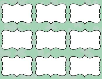 Task Card Templates Clip Art MINI SET 32