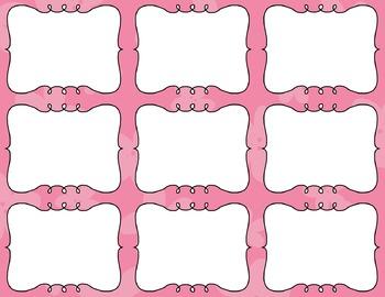 Task Card Templates Clip Art MINI SET 33