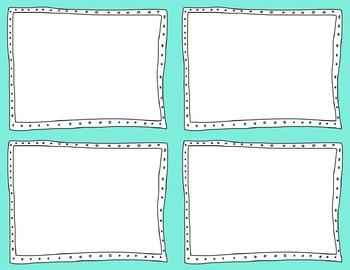 Task Card Clip Art Templates - MINI SET 36