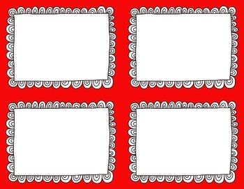 Task Card Clip Art Templates - MINI SET 38