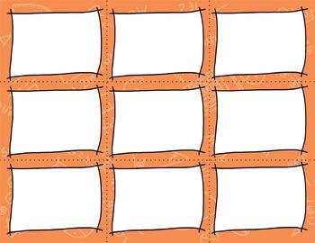 Task Card Clip Art Templates - MINI SET 5