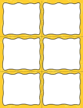 Task Card Clip Art Templates - MINI SET 9