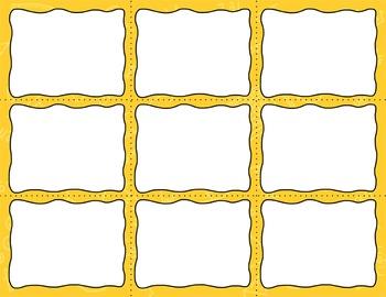 Task Card Templates Clip Art MINI SET 9