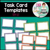 Task Card Templates Clip Art SET 12