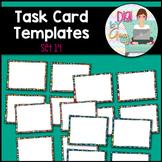 Task Card Templates Clip Art SET 14