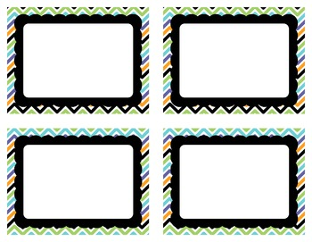 Task Card Clip Art Templates SET 16