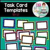Task Card Clip Art Templates SET 17