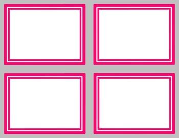 Task Card Clip Art Templates - SET 21
