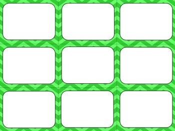 Task Card Templates Set #2