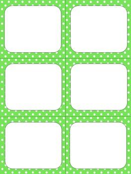 Task Card Templates Set #3