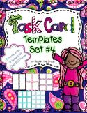 Task Card Templates Set #4- Workstation/ Classroom Decor