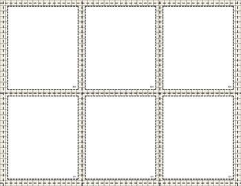Task Card Templates - Shades of Gray