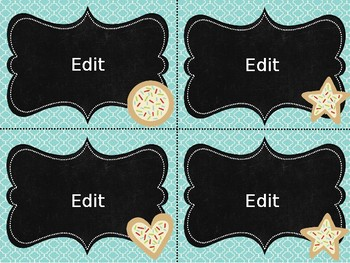 Task Card Templates: Sweet Treat Edition