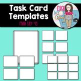 Task Card Templates Clip Art MINI SET 43