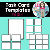 Task Card Templates Clip Art MINI SET 44