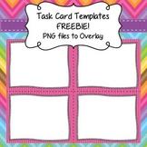 Task Card Templates FREEBIE - Frames/Borders to Overlay