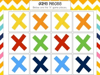 Task Card Tic-Tac-Toe Game