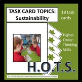 Task Card Topics: Sustainability