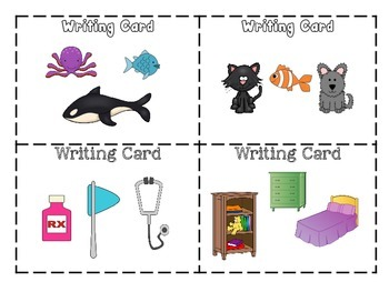 Task Card Writing Prompts
