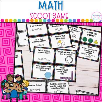 Math Scoot Game