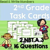 Writing Numbers Task Cards 2.NBT.A.3