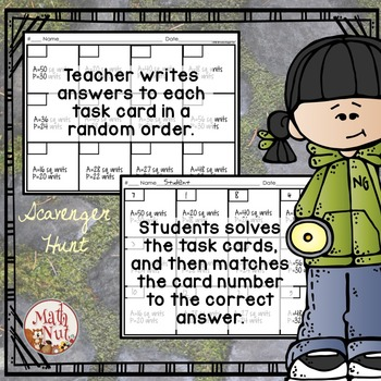 Classroom Management: Use with any Task Card Set