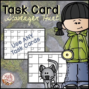 "Classroom Management Tool ""Task Card Set Helper"""
