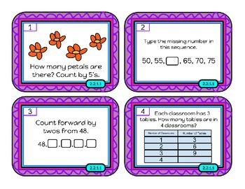Patterns -Task Cards 2nd Gr. Minnesota math Standard 2.2.1.1