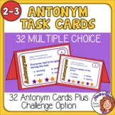 Antonym Task Cards: Free for  Grades 2-3