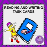 Reading and Writing Task Cards