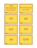 Task Cards 4.NBT.2 Base 10 Blocks