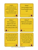 Task Cards 4.OA.3 Multi-step Word Problems