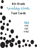 Task Cards - 4th Grade Reading STAAR (Polka Dots)