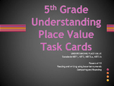 Task Cards 5th Grade Math Understanding Place Value