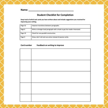 Digital Task Cards, Higher Level Thinking Skills, Writing Fluency, Sub Plan