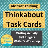 Digital Task Cards, Higher Level Thinking Skills, Writing Fluency, Sub Plan