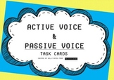 ★English Active and Passive Voice- Task Cards and Teaching Materials!