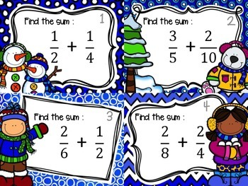 Adding Fractions with different denominators