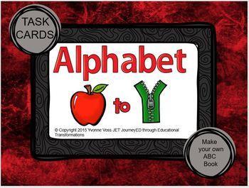 Task Cards Alphabet