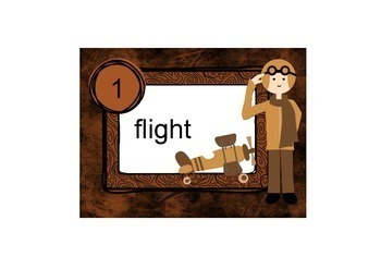 Task Cards Aviation Vocabulary